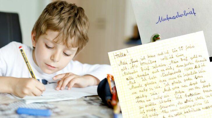 Ein kleiner Junge zeigt, was es heißt, Mitmenschen Mut zu machen.