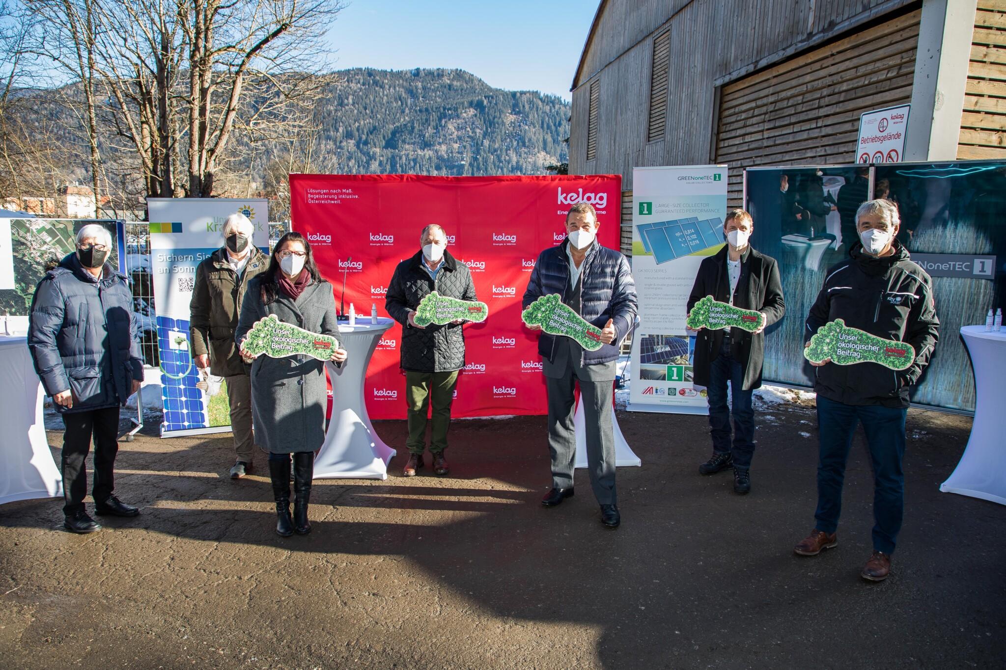 Die solarthermische Anlage in Friesach ist mit ihrer Konzeption die größte in Österreich und ein Vorzeigeprojekt in Sachen Klimaschutz.