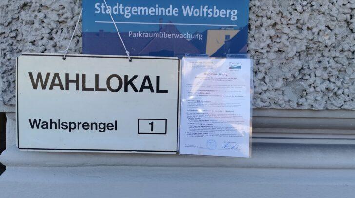 Viele Wolfsberger statteten dem Wahllokal heute einen Besuch ab.