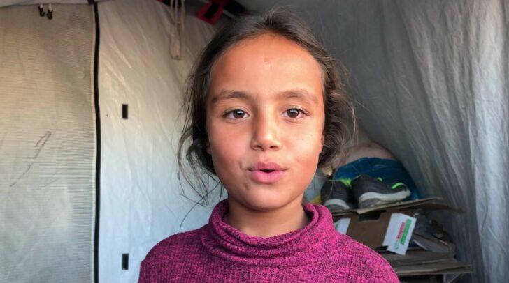 Bewegende Schicksale, wie das der 10-jährigen Mariam, motivieren die Mitglieder der Karawane, den Menschen zu helfen