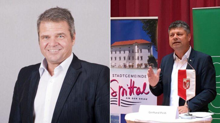 Gerhard Köfer (Team Kärnten) und Gerhard Pirih (SPÖ) kennen das Spittaler Bürgermeisteramt bereits. Die Wähler entscheiden welcher Spitzenkandidat es die nächsten Jahre werden wird.