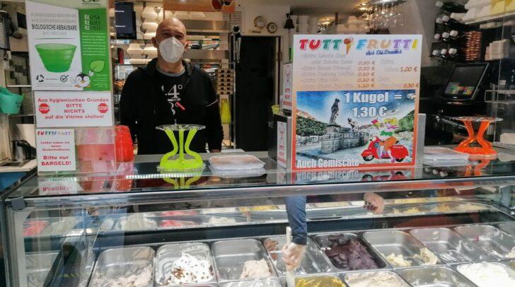 Das Angebot der Gelateria Tutti Frutti wurde heute von einigen Klagenfurtern genutzt.