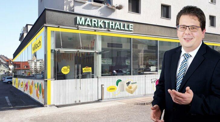 Marktreferent Christian Pober freut sich über die neue