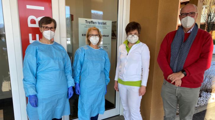 Gratis-Antigen-Testungen gibt es jetzt auch in Treffen