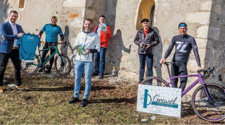 Die Organisatoren und Unterstützer der Gravelbike-Touren zu den Lost Places freuen sich über das neue Angebot rund um den Wörthersee.