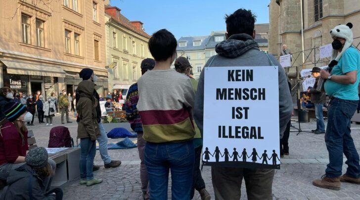 Ziel der Veranstaltung ist es, für eine menschlichere Asylpolitik einzutreten.