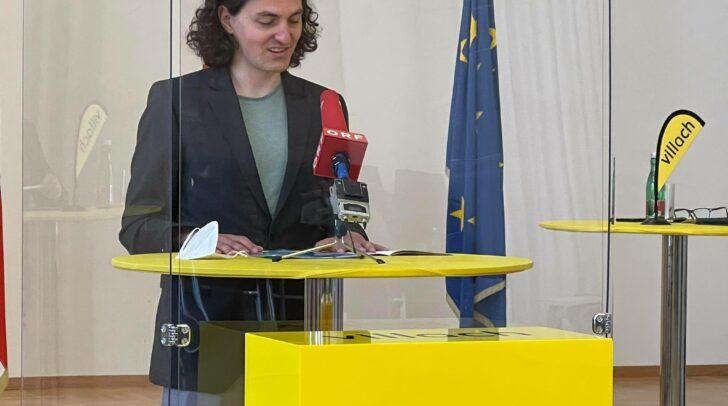 Neu mit dabei ist Stadtrat Gerald Dobernig (ERDE)