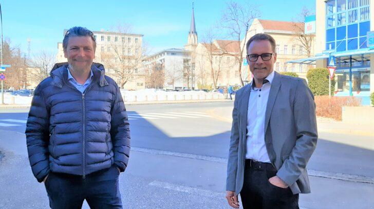 Die Finanzreal-Experten Roland Potocnik und Dieter Wallner (v.l.) wissen, wo dein Geld gut angelegt ist.