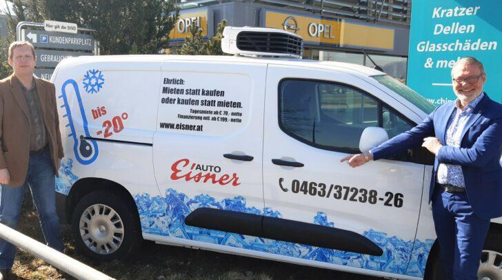 Die Kühlfahrzeuge von Eisner Auto lassen sich auf – 20 Grad herunter kühlen.