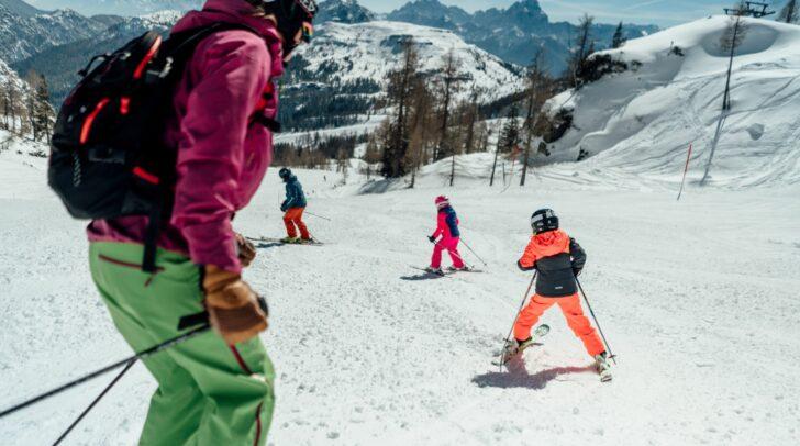 Das restliche Skigebiet bleibt bis Ostermontag geöffnet.