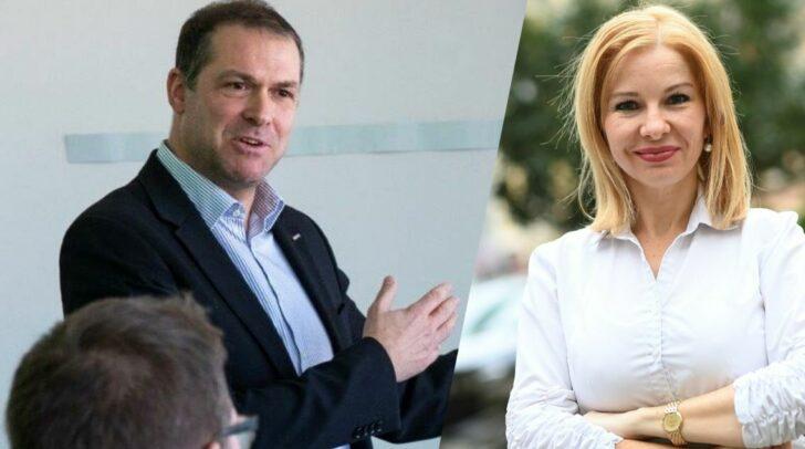 v.l.n.r.: Markus Geiger und Julia Löschnig