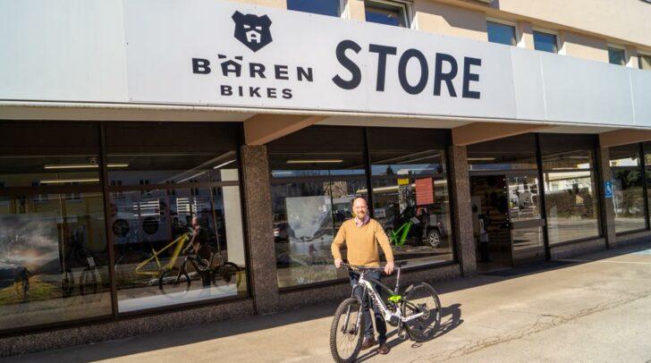 Der neue Bärenbikes-Store in Villach ist die Adresse für E-Bikes aus Kärnten.
