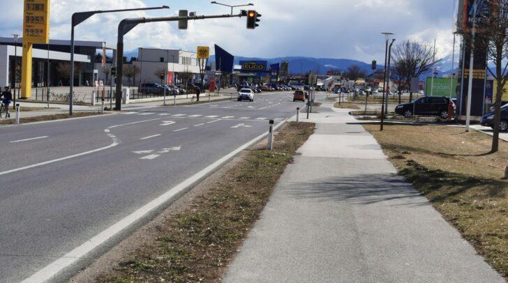 Auf dieser Kreuzung in Wolfsberg kam es zum tragischen Unfall.
