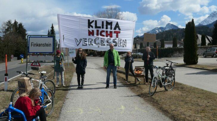 Globaler Klimastreik in Finkenstein