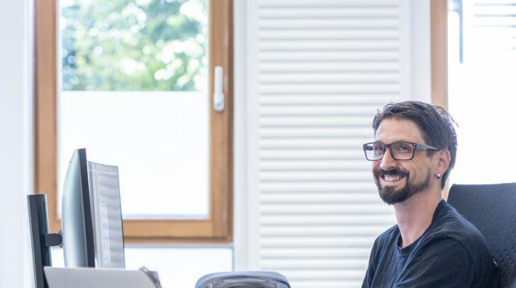 Roland Wohlfahrt ist Team Captain des stetig wachsenden App Security Teams in Klagenfurt.