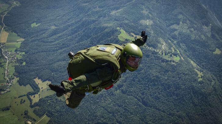 Im Oberkärntner Raum werden in den nächsten Tagen Fallschirmsprünge geübt.