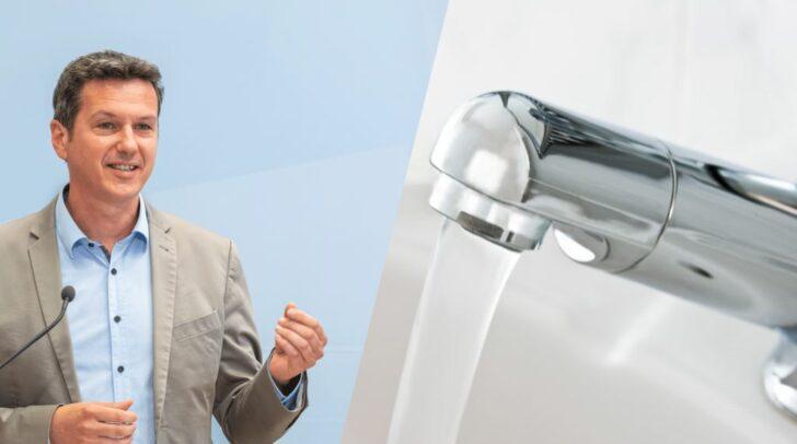 Wasserwirtschaftsreferent Landesrat Daniel Fellner