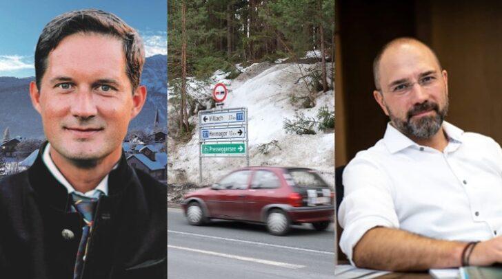 Die Bürgermeister aus den Gemeinden St. Stefan im Gailtal und Kötschach-Mauthen sprachen mit 5-Minuten über die anstehenden Kontrollen.