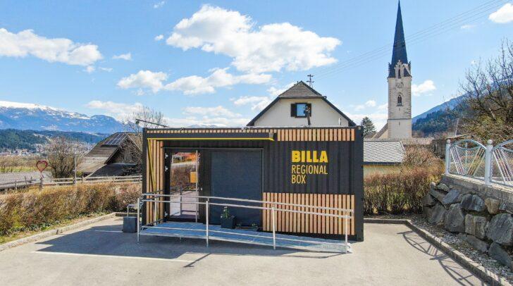 """Die neue """"Billa Regional Box"""" in Baldramsdorf"""