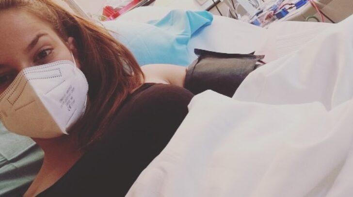 Anja (21) spendete ihre Stammzellen nach Kanada.