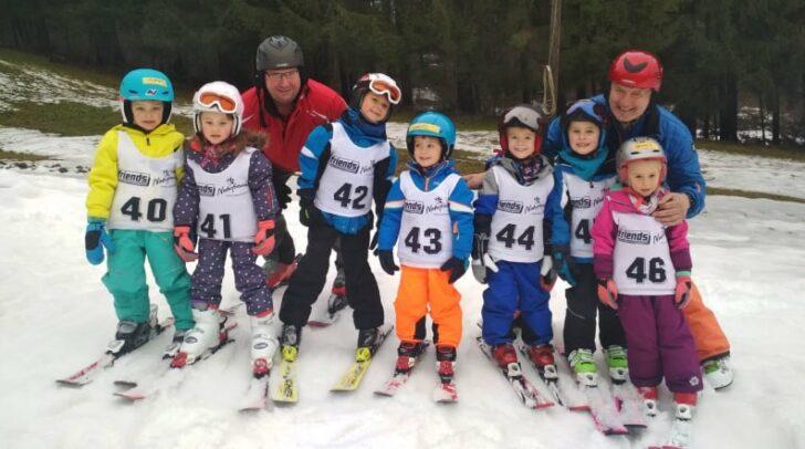 Das Schifahren ist immer ein besonderes Highlight für die Kinder.