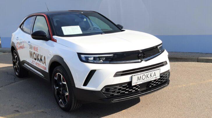 Den neuen Opel Mokka kannst du jetzt bei allen Eisner Auto Opel-Standorten Probefahren.