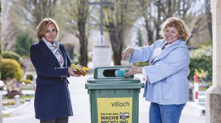 Vizebürgermeisterin Irene Hochstetter-Lackner und Astrid Panger von der Plattform
