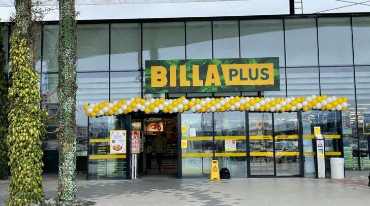 Aus Merkur wurde Billa Plus.