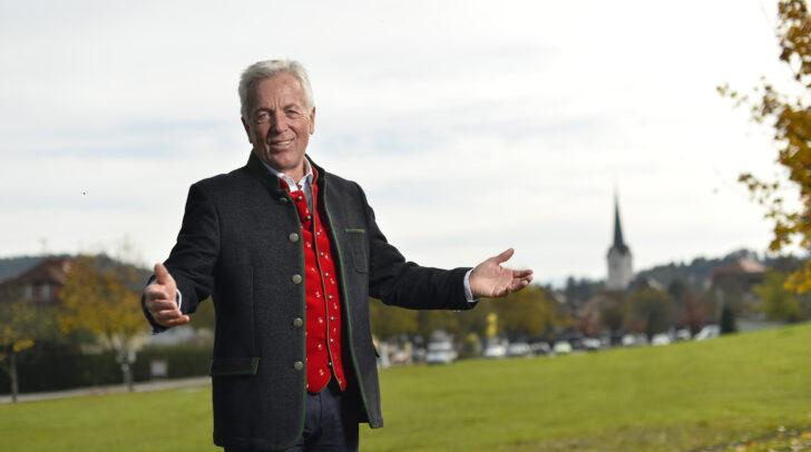 Herbert Gaggl feiert sein 30-jähriges Jubiläum als Bürgermeister von Moosburg.