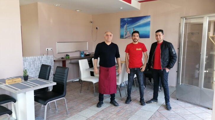 """Das """"Pizza & Kebap Haus Milano"""" ist ein richtiger Familienbetrieb, auch der Gastraum wurde selbst umgebaut"""