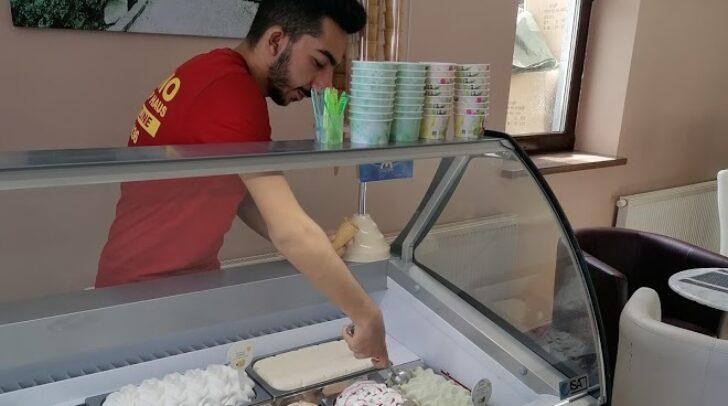 Ab sofort gibt es in der Ebenthalerstraße 186 nicht nur Pizza und Kebap, sondern auch Eis