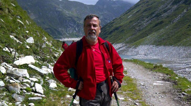Beim Wandern findet Hermann Lipitsch Erholung.