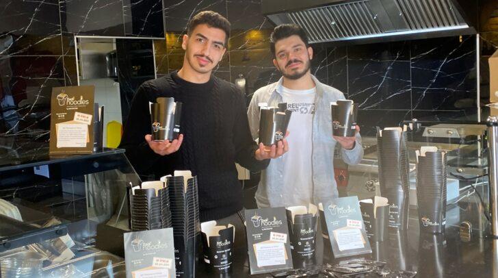 Nudeln genau nach deinen Vorstellungen: Die Jungunternehmer AkifGorgülü und Mahmut Hasyalcin (v.l.) eröffnen demnächst ihr Lokal