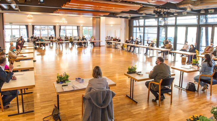 Die konstituierende Gemeideratssitzung fand am Mittwoch im Congress Center Wörthersee statt.