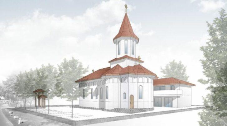 So wird die fertige Kirche aussehen.