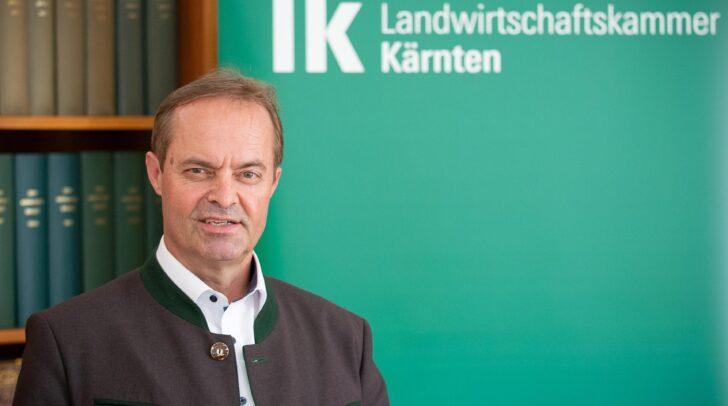LK-Präsident Johann Mößler zeigt sich zufrieden mit der heute vom Landtag beschlossenen Novelle des Kärntner Raumordnungsgesetzes.
