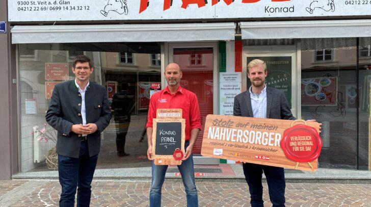 Nahversorgerbonus für die Fleischereibetriebe Alfred und Konrad Pfandl