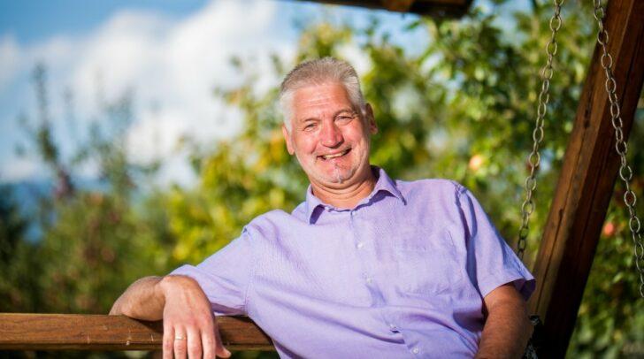 Ein bodenständiger Mann, der seine Gemeinde weiterentwickeln möchte: Bürgermeister Guntram Perdacher