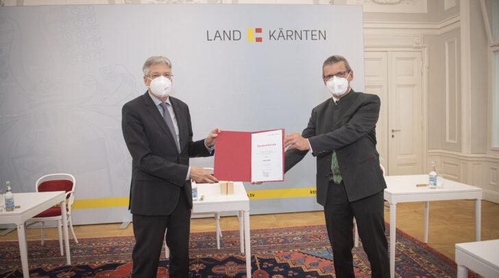 LH Peter Kaiser und Johann Weiß