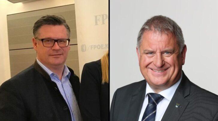 Christian Leyroutz (links) wird sich aus dem Kärntner Landtag zurückziehen. Sein Mandat wird Maximilian Linder (rechts) übernehmen.