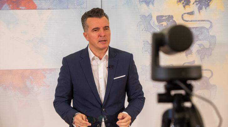 FPÖ-Landesparteiobmann Gernot Darmann kritisiert die Verschärfung der Corona-Maßnahmen.