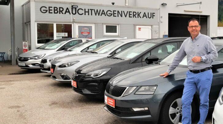 """""""Bei uns fahren Sie immer sicher"""", so Gebrauchtwagenverantwortlicher Mario Vaschauner von Eisner Südring."""