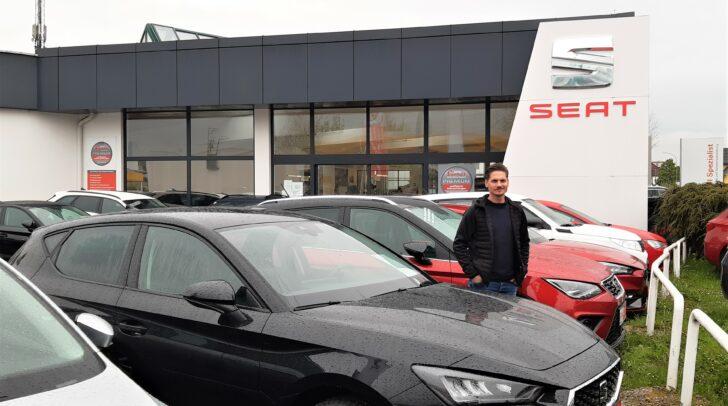 """""""Ob Gebraucht- oder Jungwagen, bei uns finden Sie das passende Fahrzeug"""", versichert Verkaufsassistent David De Simone von Eisner Pischeldorfer Straße."""