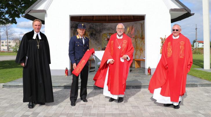 Die Messe zum Florianitag wird im Gedenken an den Schutzpatron der Feuerwehrleute abgehalten.
