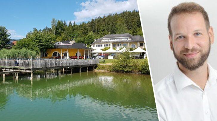 """Gastronom Thomas Carpentari startet mit dem """"Carpe Diem"""" am Keutschacher See durch."""