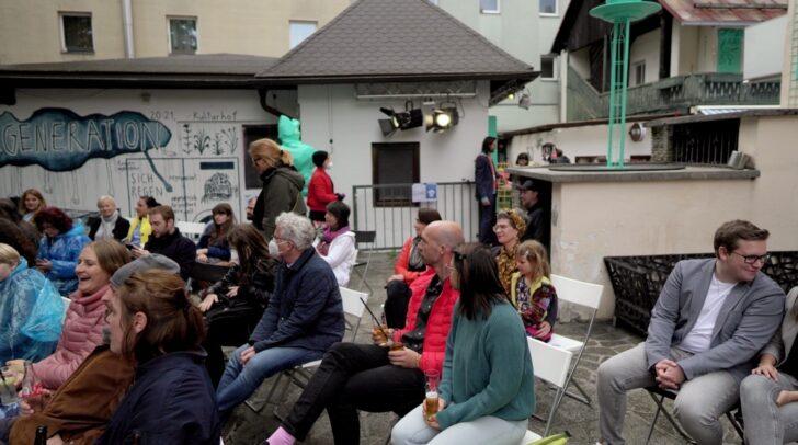 Besucher der Wiedereröffnung des kulturhof:villach konnten nach einer langen Zeit Covid-19-bedingter Entbehrungen im gesamten, neugestalteten Bereich Kulturfreiluft atmen.