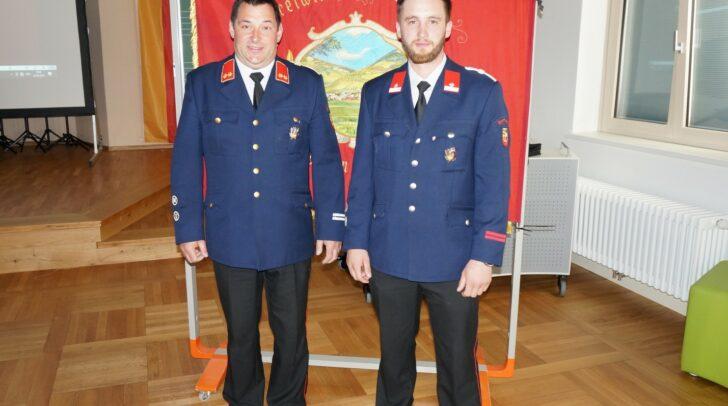 Martin Untermoser (links) wurde erneut gewählt, Michael Unterwalcher ist sein neuer Stellvertreter