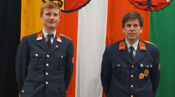 Die Kommandantschaft der Feuerwehr Ferlach
