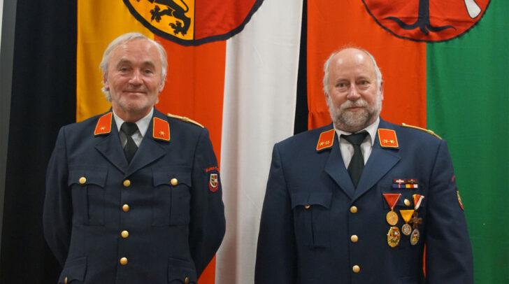 Die Kommandantschaft der Feuerwehr Glainach-Tratten