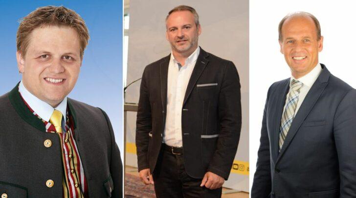 v.l.n.r.: Gerhard Altziebler (FPÖ), Günther Vallant (SPÖ) und Christian Poglitsch (ÖVP)